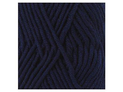 DROPS Big Merino uni colour 17 - tmavá modrá
