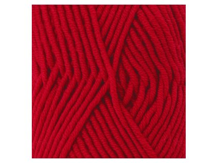 DROPS Big Merino uni colour 18 - červená
