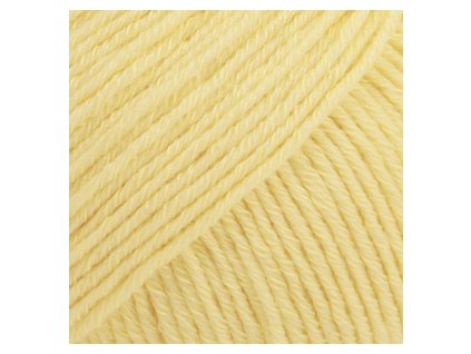 DROPS Cotton Merino uni colour 17 - vanilková