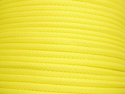 656 polyesterova snura yarnmellow loopy prvosenkova