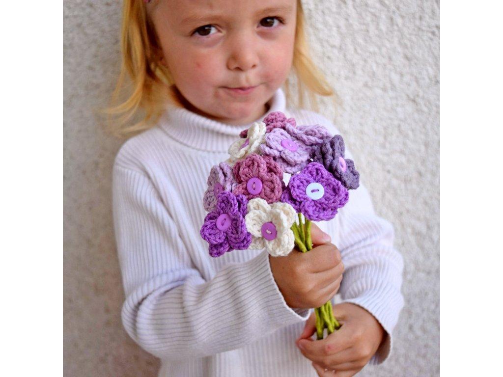 Květina pro tebe - fialová