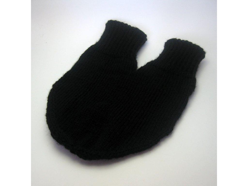 Partnerská rukavice - černá