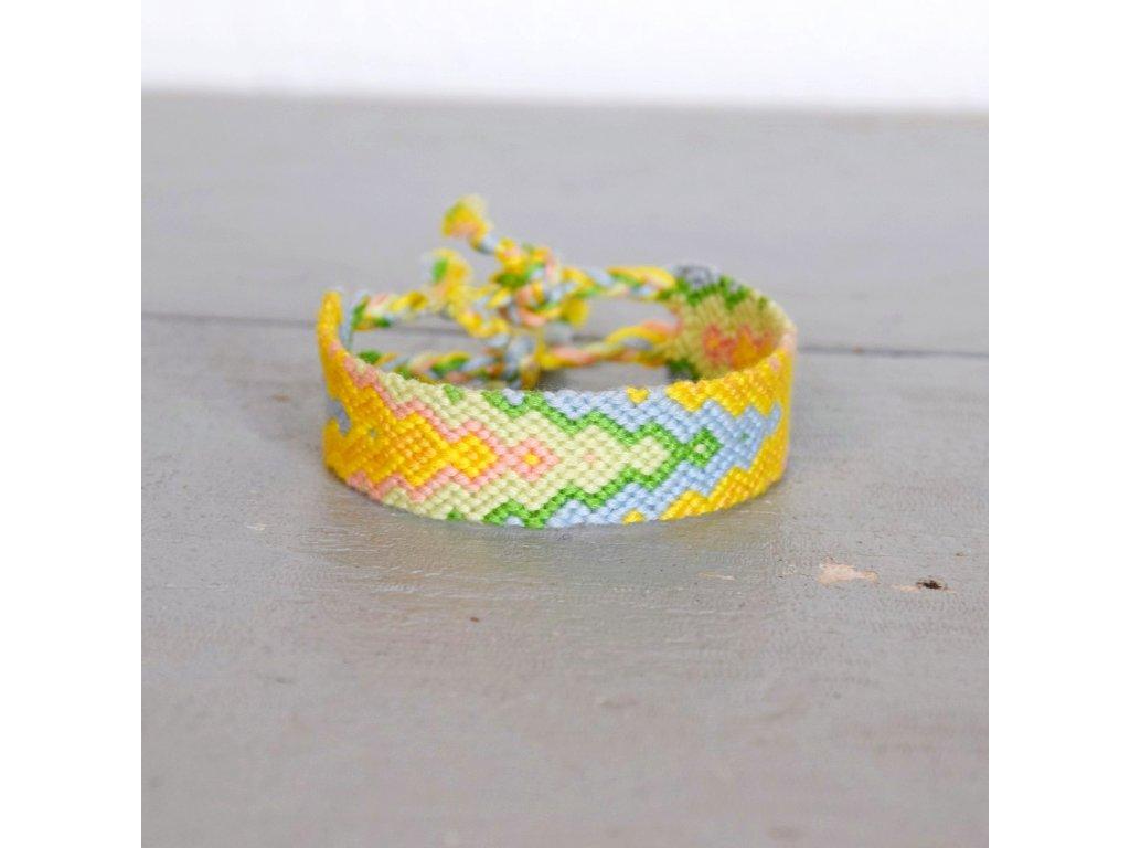 Náramek - sunny snake