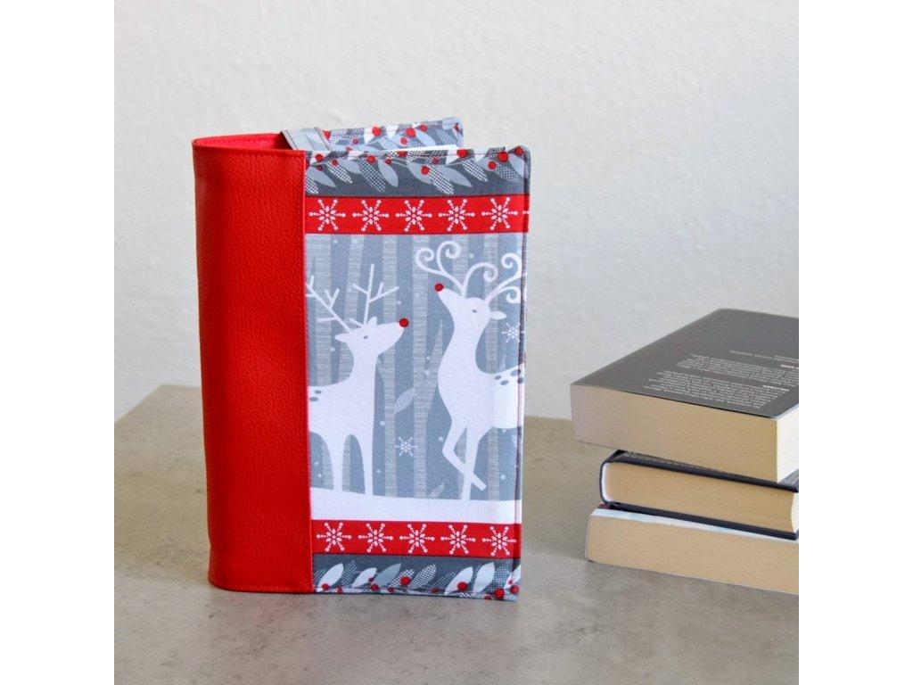 Obal na knihu - vánoční