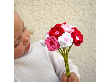 Květina pro tebe - červená