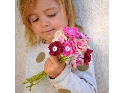 Květina pro tebe - růžová