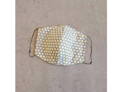 Bavlněná rouška pánská - včelařská