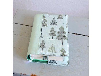 Obal na knihu - zimní les
