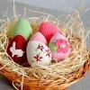 Sada velikonočních vajíček - vlčí máky