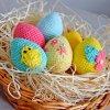 Sada velikonočních vajíček - pomněnky