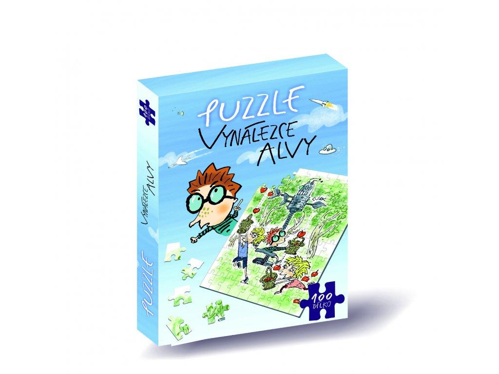 puzzle vynalezce alvy modre