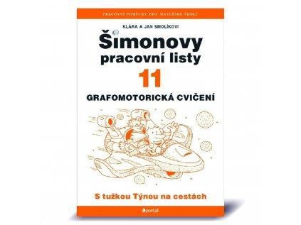 Šimonovy pracovní listy 11 s tužkou týnou na cestách