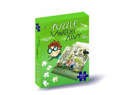 puzzle vynalezce alvy zelene