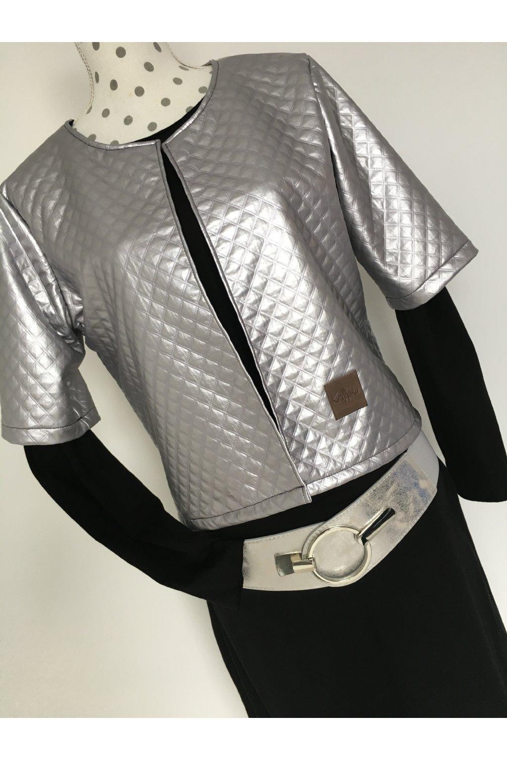 Kabátek silver
