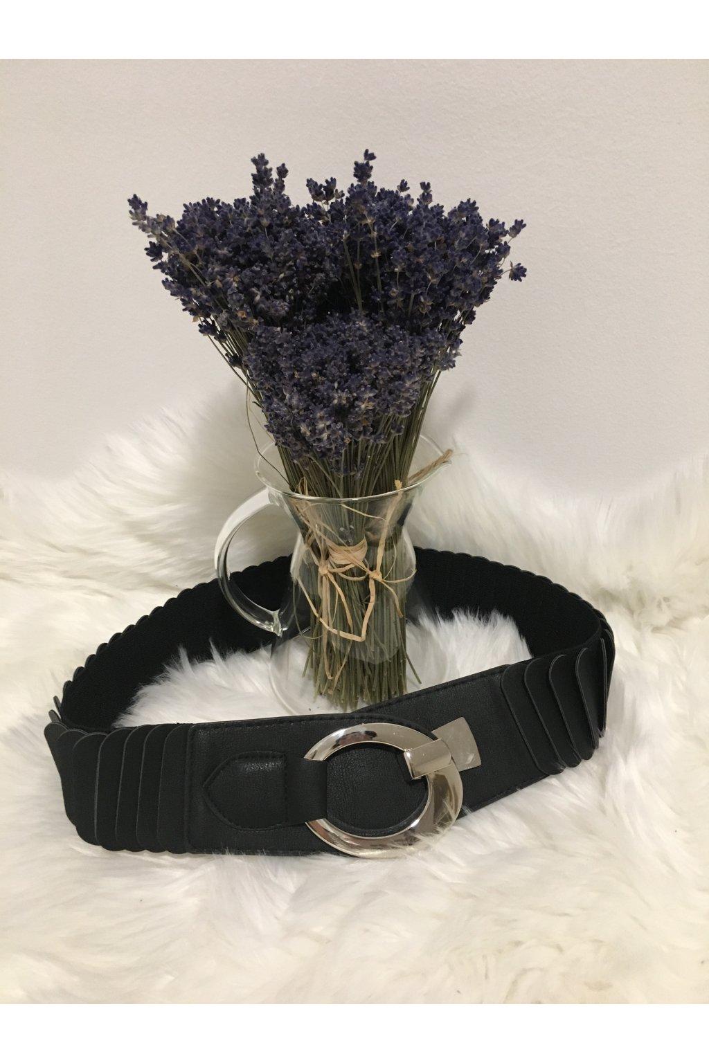 Pásek black oval