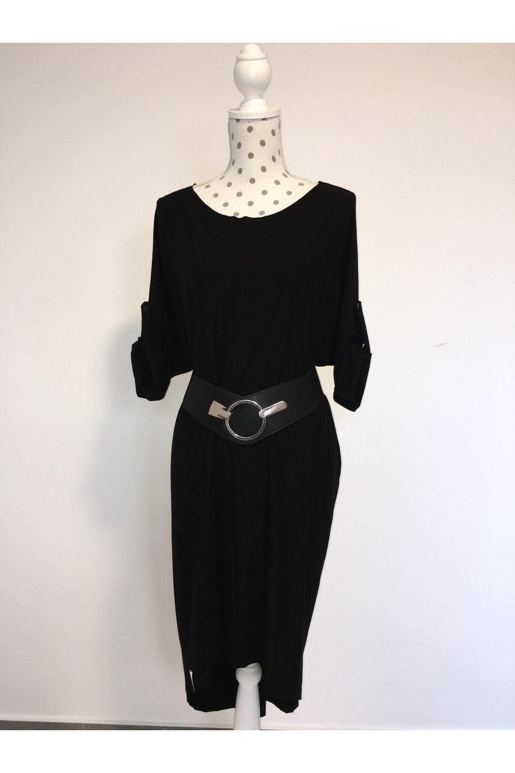 Oversize šaty black simple