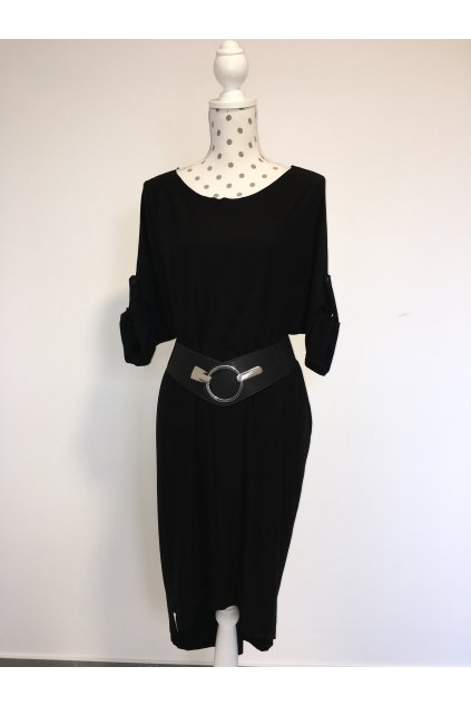 Oversize šaty black simple
