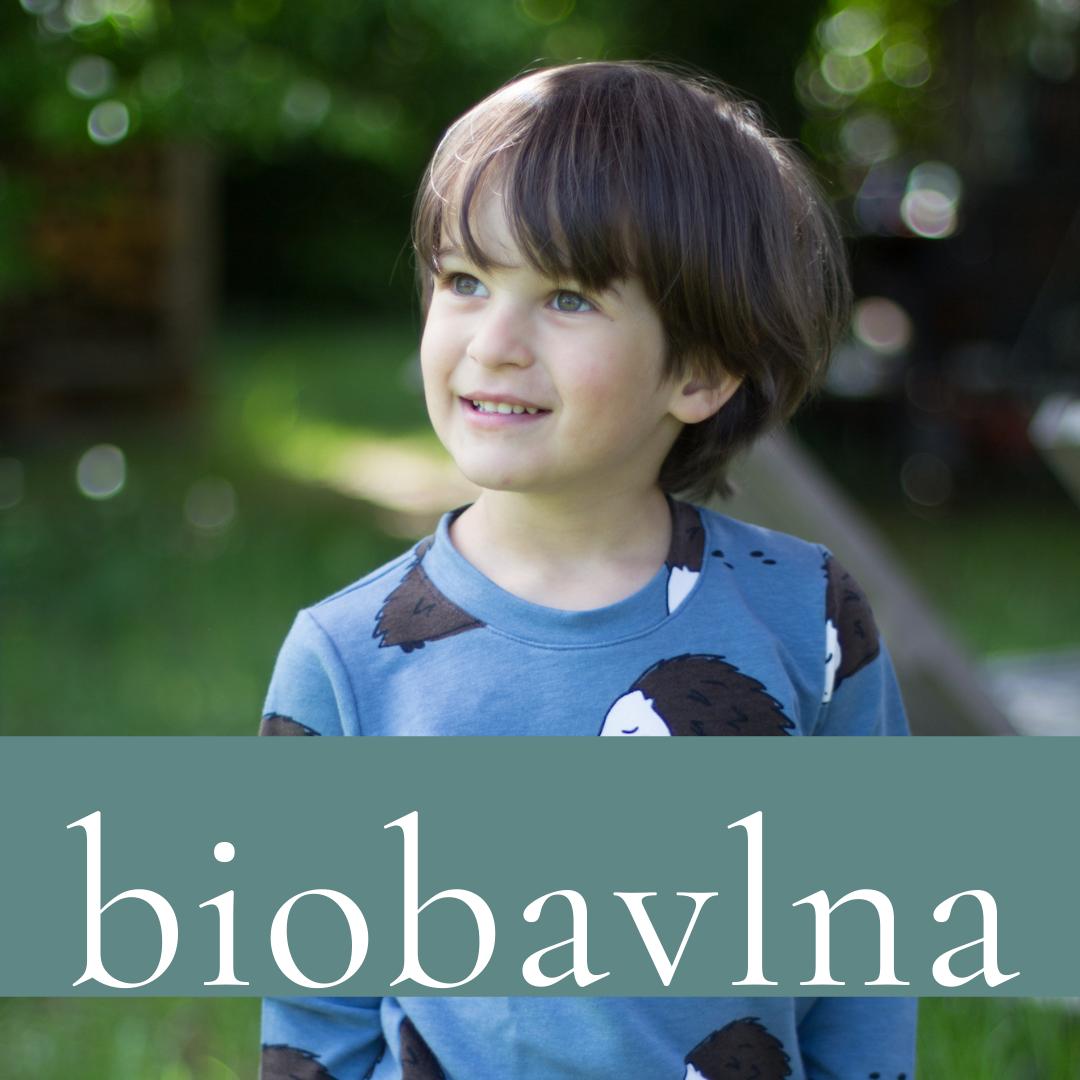 Kolekce z biobavlny pro děti a miminka