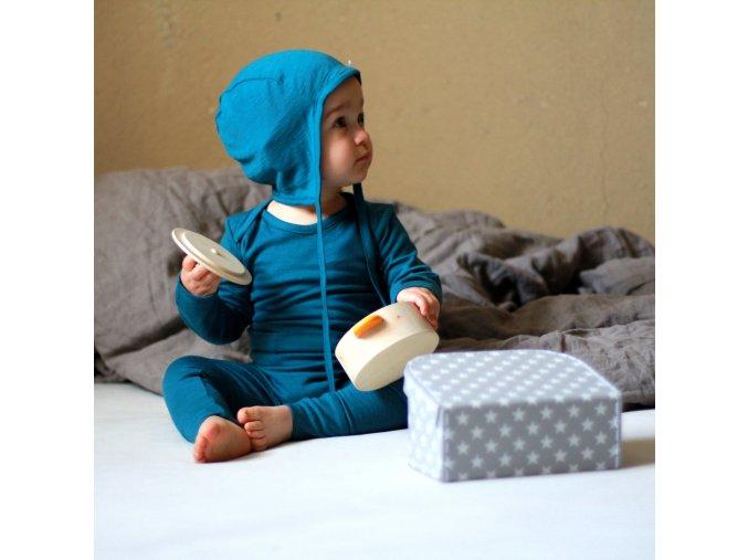 kvalitní merino legínky pro miminka