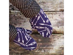 Merino rukavice: ŠÍPY