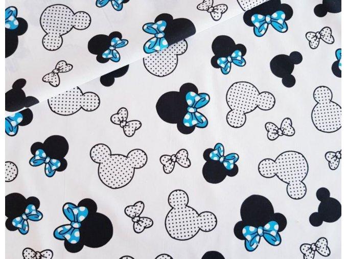 Minnie modrá