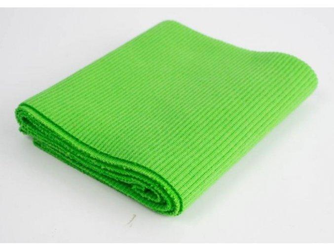 Náplet sytě zelený