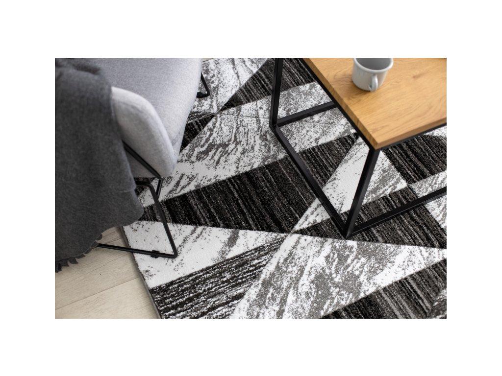 Kusový koberec ALTER Nano šedý