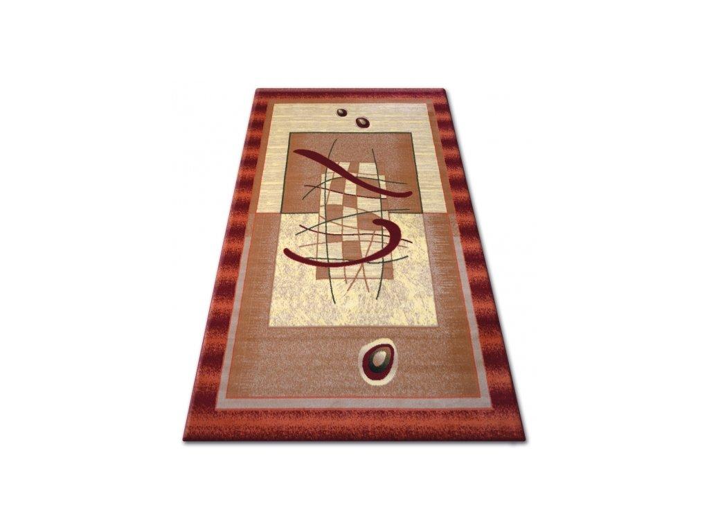 Kusový koberec PRIMO 5414 bordó