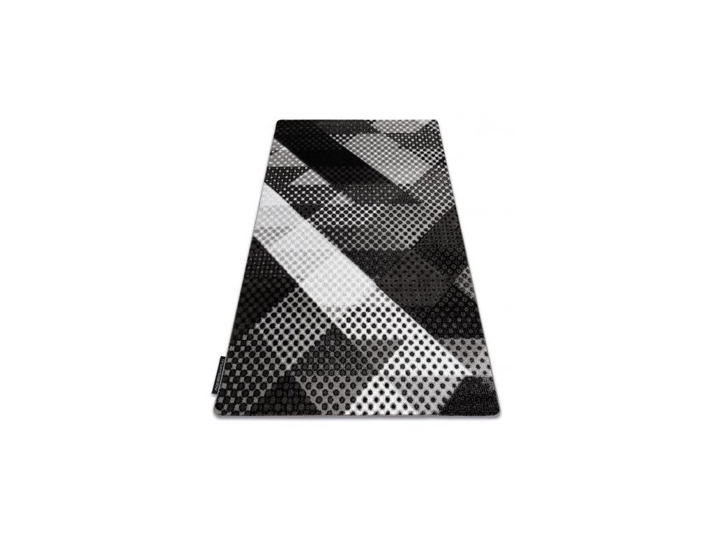 Kusový koberec INTERO BALANCE 3D šedý