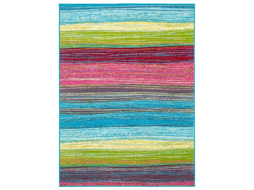 Dětský kusový koberec Agnella Funky Top Dor smaragdový
