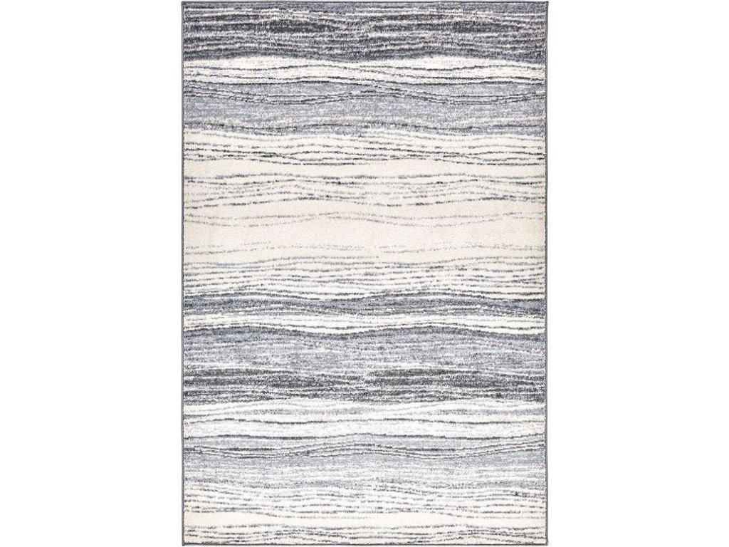 Moderní kusový koberec Agnella Etna Mersin Šedý