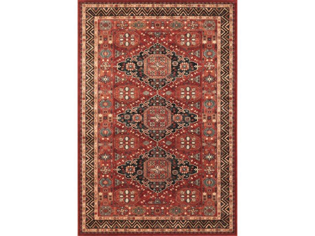 Kusový koberec vlněný Osta Kashqai 4308 300 bordó