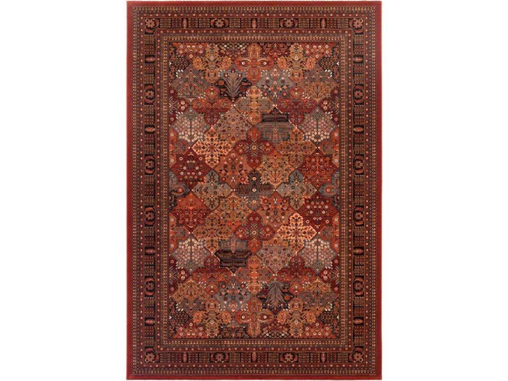 Kusový koberec vlněný Osta Kashqai 4309 300 bordó