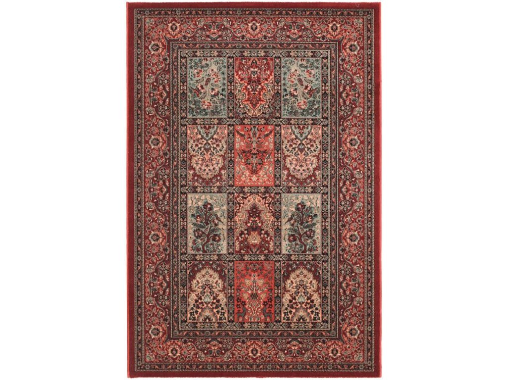 Kusový koberec vlněný Osta Kashqai 4325 300 bordó