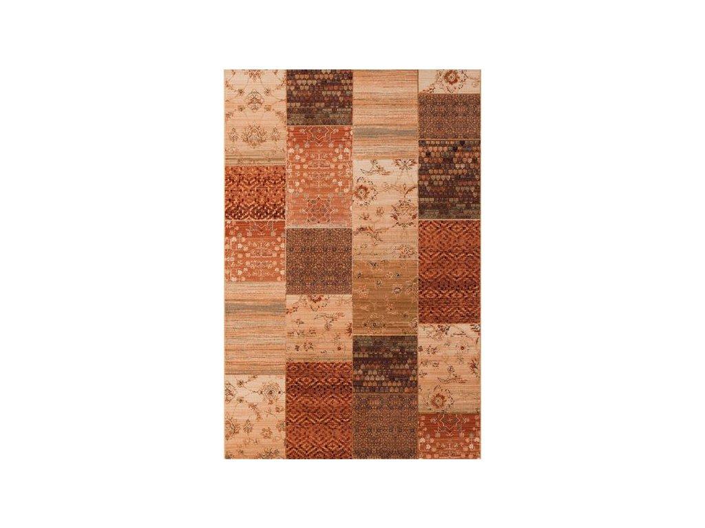 Moderní vlněný koberec Osta Kashqai 4327 101 béžový
