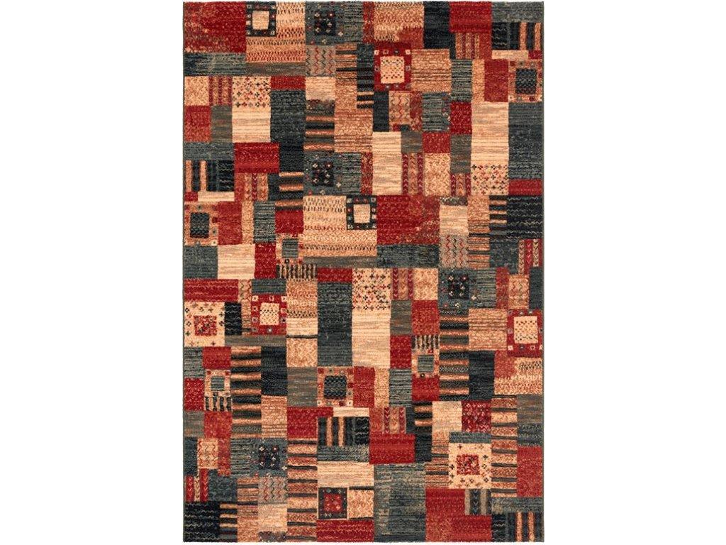 Moderní vlněný koberec Osta Kashqai 4329 400 vícebarevný