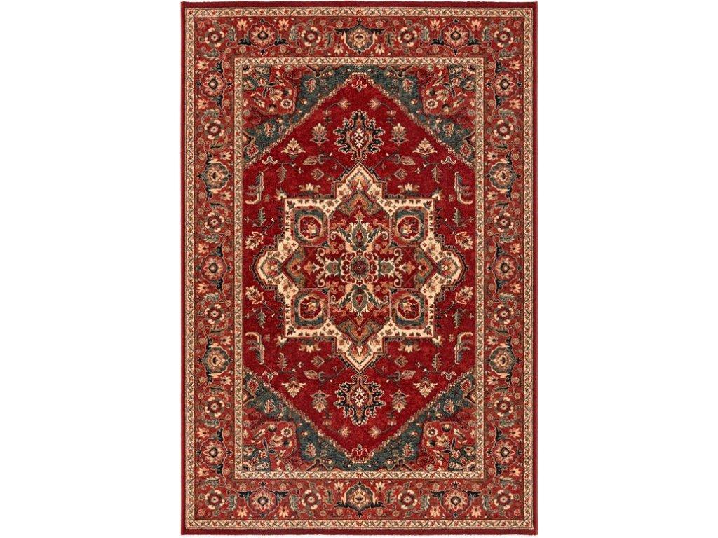 Kusový koberec vlněný Osta Kashqai 4354 300 červený