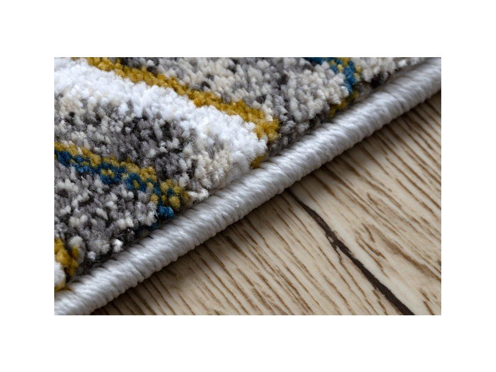 Dětský kusový koberec PETIT Plameňáci krémový