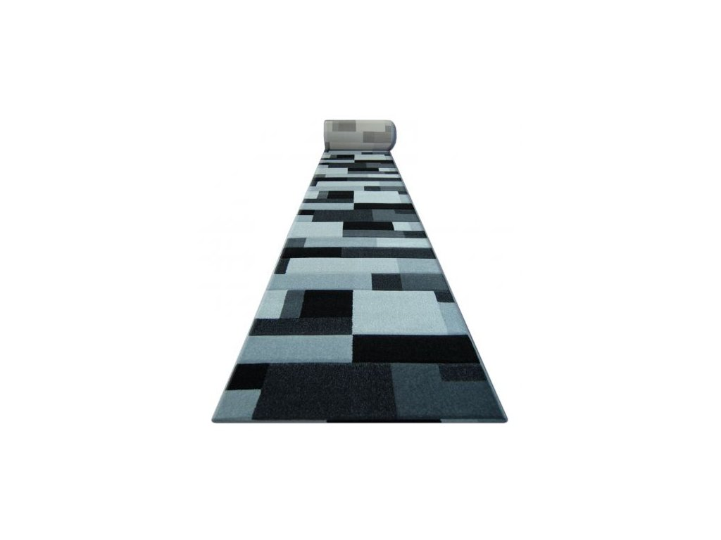 Běhoun PILLY - 8403 černý / stříbrný