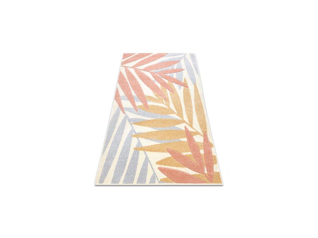 Moderní kusový koberec FEEL 1827/17933 Listí vícebarevný