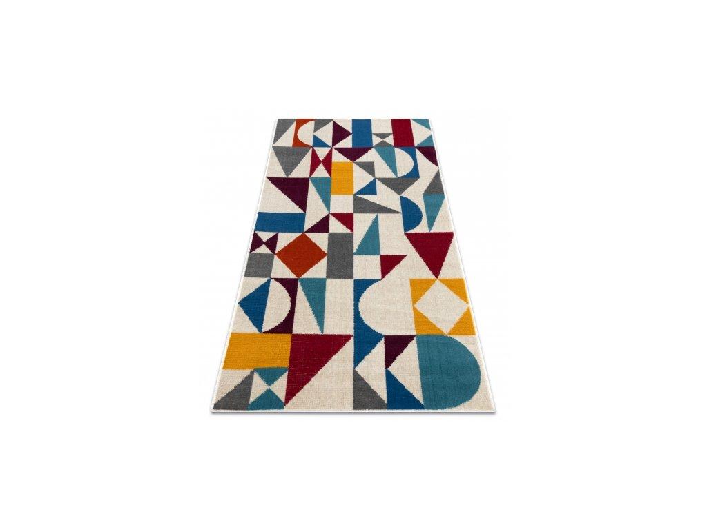 Moderní kusový koberec GINA 21243061 Geometrický vícebarevný