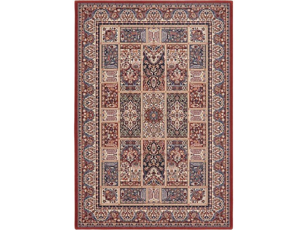 Kusový koberec vlněný Osta Brilliant 7501 200 bordó