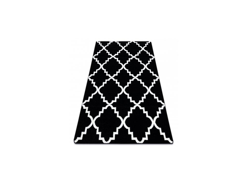 Koberec SKETCH - F343 černý bílý