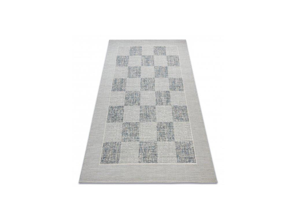 Kusový koberec Sisal FORT 36217051 modrý / béžový