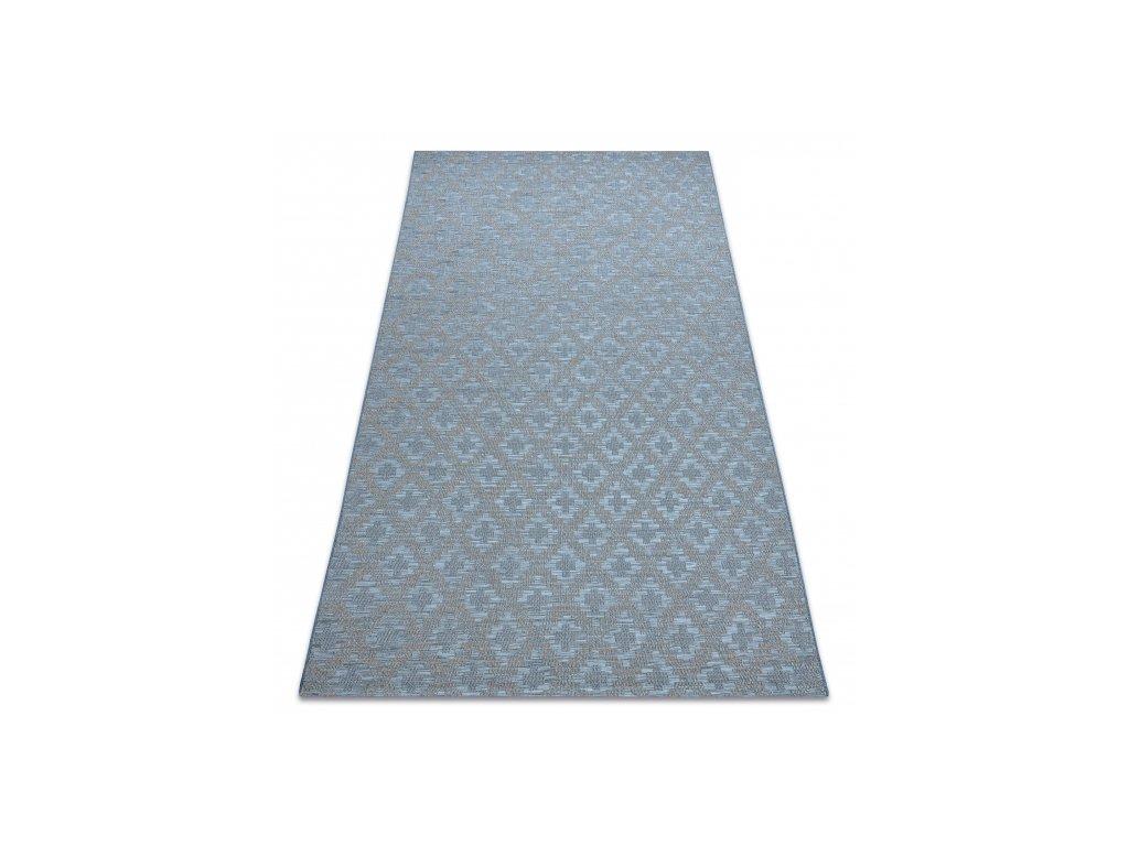 Kusový koberec Sisal FORT 36215535 modrý