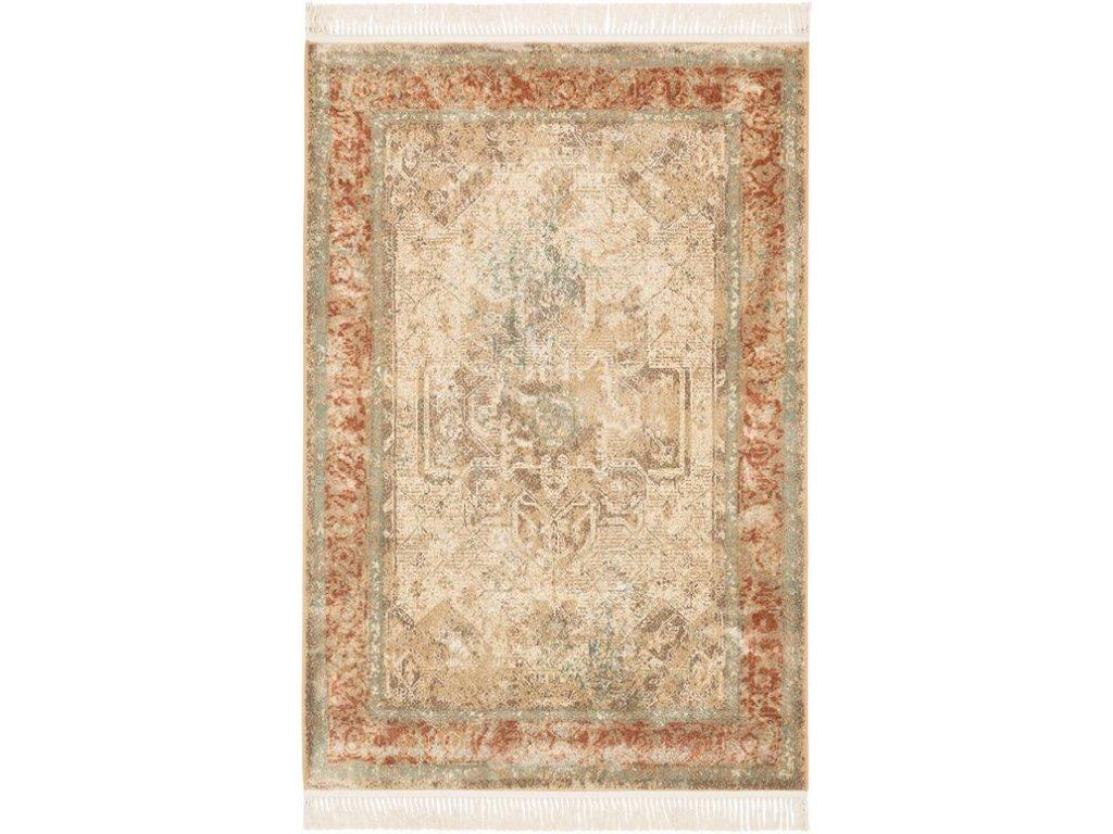 Klasický kusový koberec Ragotex Beluchi 88465 2282 béžový / hnědý