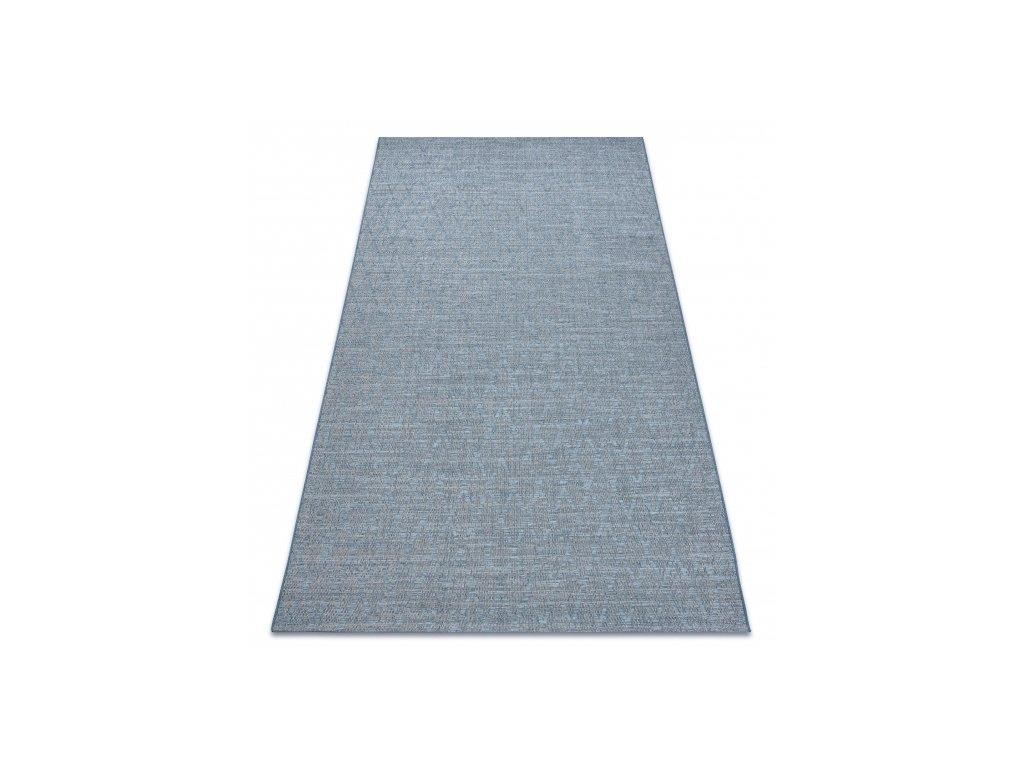 Kusový koberec Sisal FORT 36212355 modrý