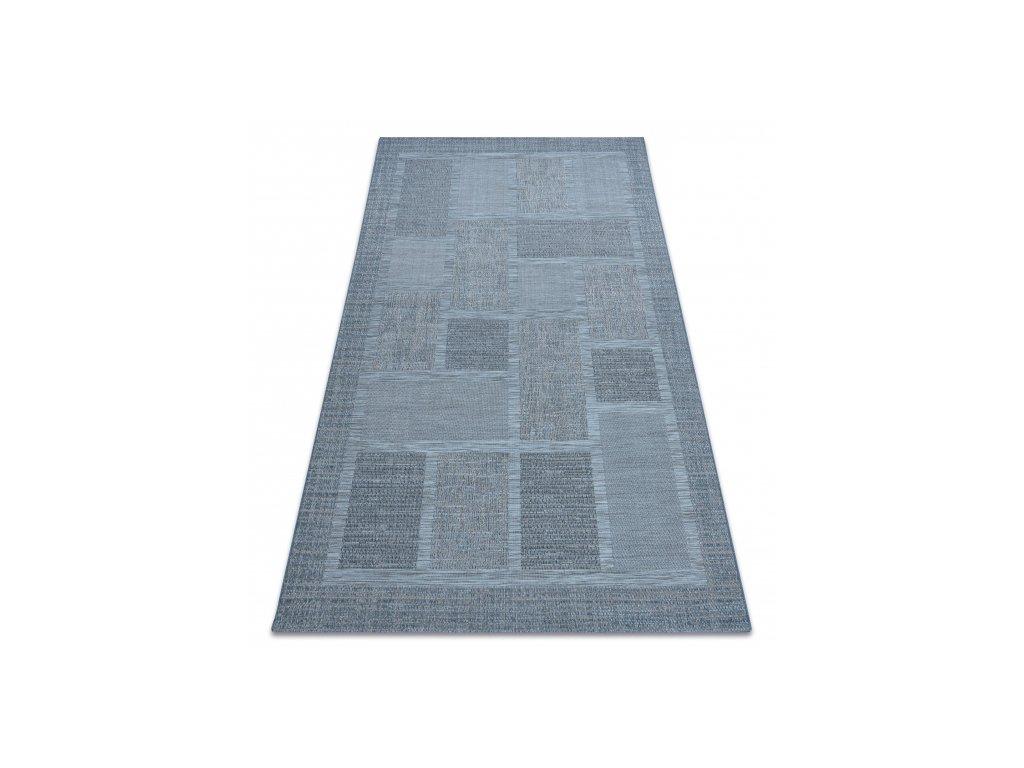Kusový koberec Sisal FORT 36209535 modrý