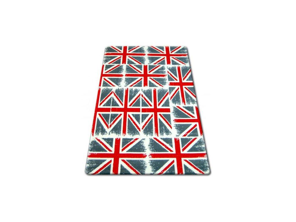 Kusový koberec BCF FLASH 33408/170 Vlajka