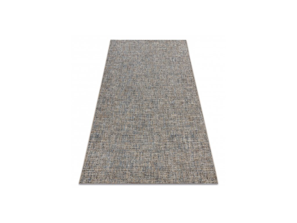 Kusový koberec Sisal FORT 36202352 béžový / modrý